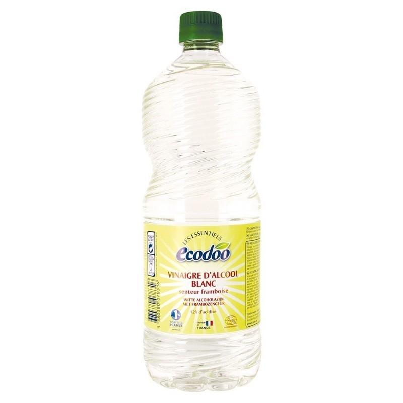 Otet bio pentru menaj cu aroma de zmeura, 1L - Ecodoo