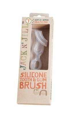 Periuta din silicon pentru dinti si gingii, 2-5 ani - Jack n' Jill