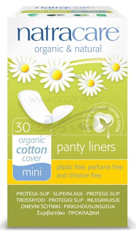 Protej slip din bumbac organic mini 30 buc - Natracare