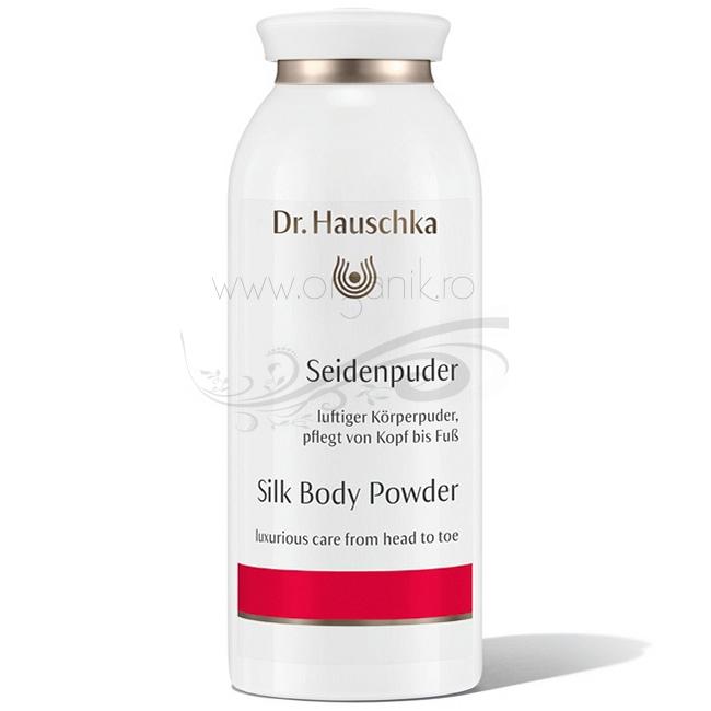 Pudra de matase parfumata pentru corp, fara talc, 50 g - Dr. Hauschka