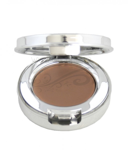 Pudra pentru sprancene cu pigmenti din fructe, Brunette - 100 Percent Pure Cosmetics