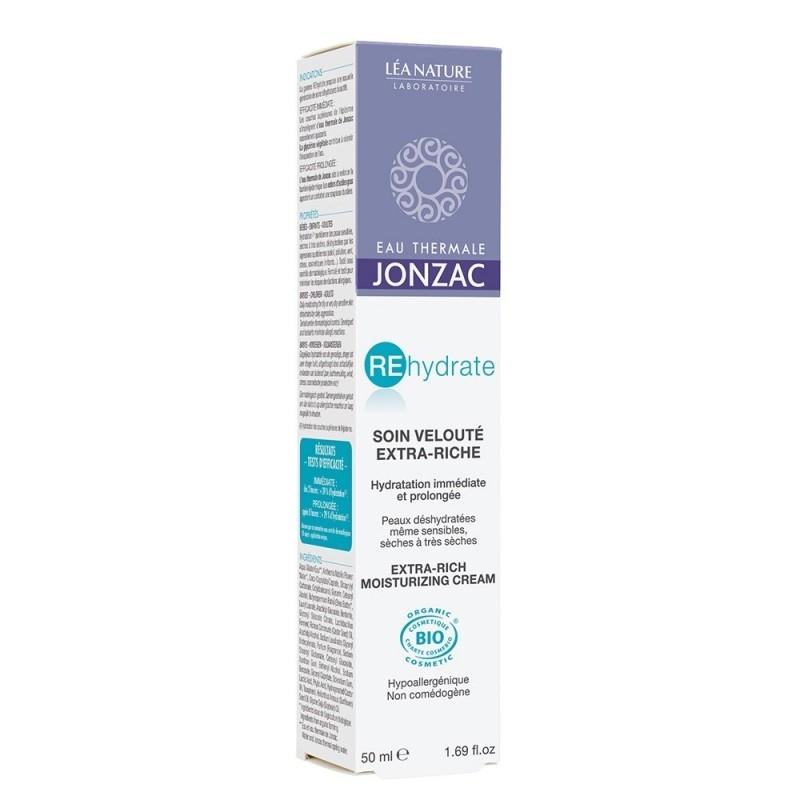 Crema intensiva pentru ten deshidratat, foarte uscat, REhydrate 50ml - JONZAC