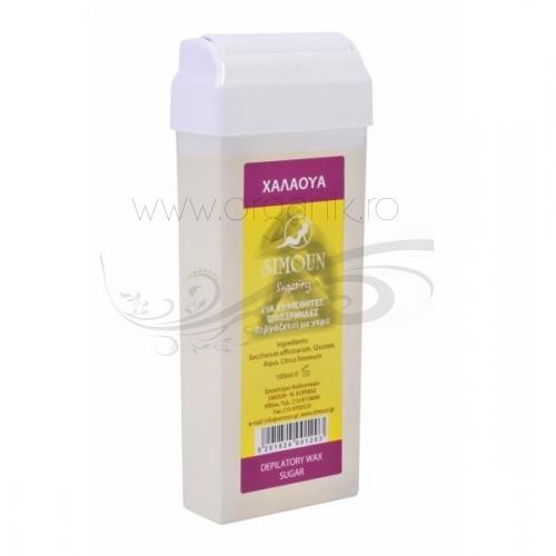 Roll on ceara naturala de zahar pentru epilat, 100 ml - Simoun
