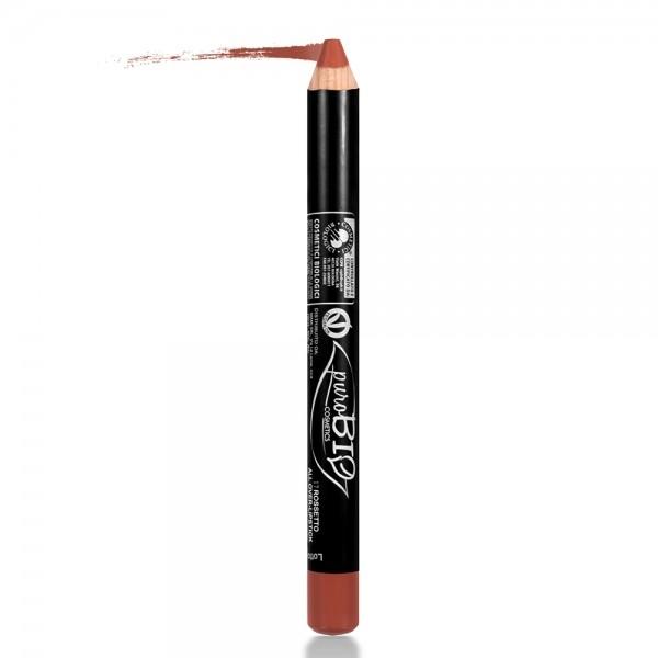 Ruj & fard de pleoape creion Sienna 17 - PuroBio