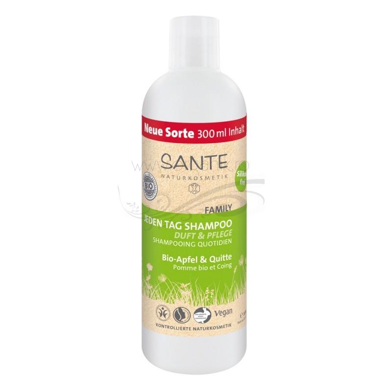 Sampon organic pentru uz zilnic cu mar si gutuie, 300 ml - SANTE NATURKOSMETIK