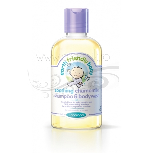 Sampon si gel de dus bebe cu musetel - Earth Friendly Baby