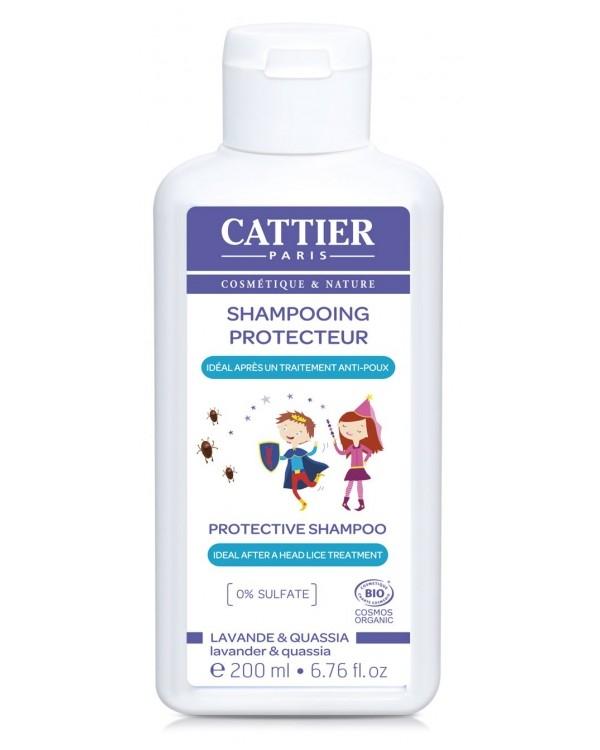 Sampon de protectie impotriva paduchilor, pentru copii, 200 ml - CATTIER
