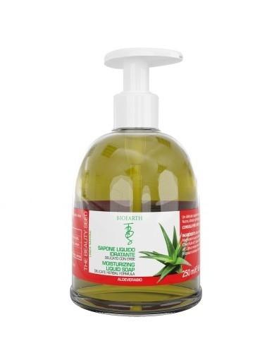 Sapun lichid cu aloe vera si ulei de masline, 250 ml - Bioearth