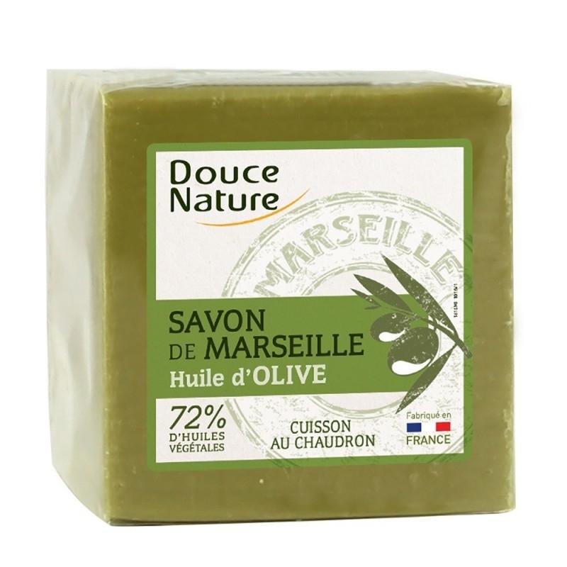 Sapun verde original de Marsilia 600g - Douce Nature