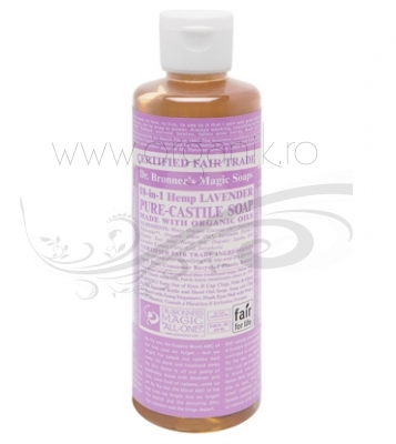 Sapun magic 18-in-1 Lavanda, 236 ml - DR. BRONNER