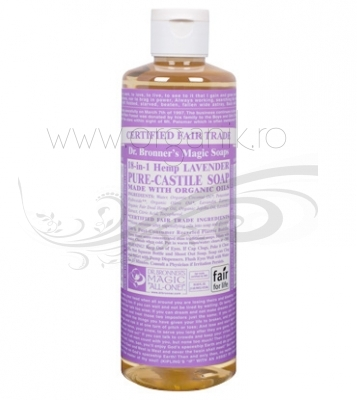 Sapun magic 18-in-1 Lavanda, 473 ml - DR. BRONNER