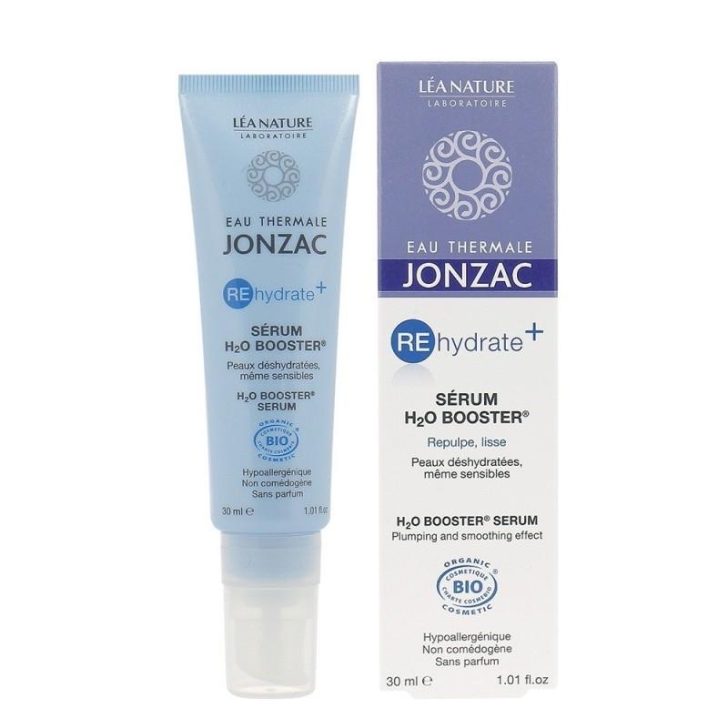 Ser hidratare si netezire cu acid hialuronic H2O Booster, REhydrate+ 30ml - JONZAC