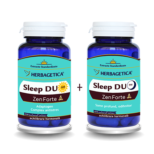 Sleep Duo AM/PM, 30 +30 capsule - HERBAGETICA