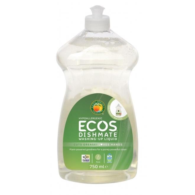 Solutie pentru spalat vase si biberoane Pere, 750 ml - ECOS