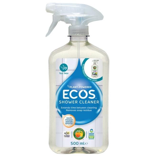 Solutie eco pentru curatarea dusului si a baii cu tea tree, 500 ml - ECOS