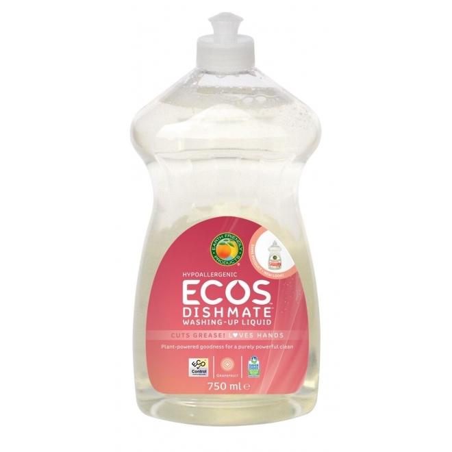 Solutie pentru spalat vase si biberoane Grapefruit, 750 ml - ECOS