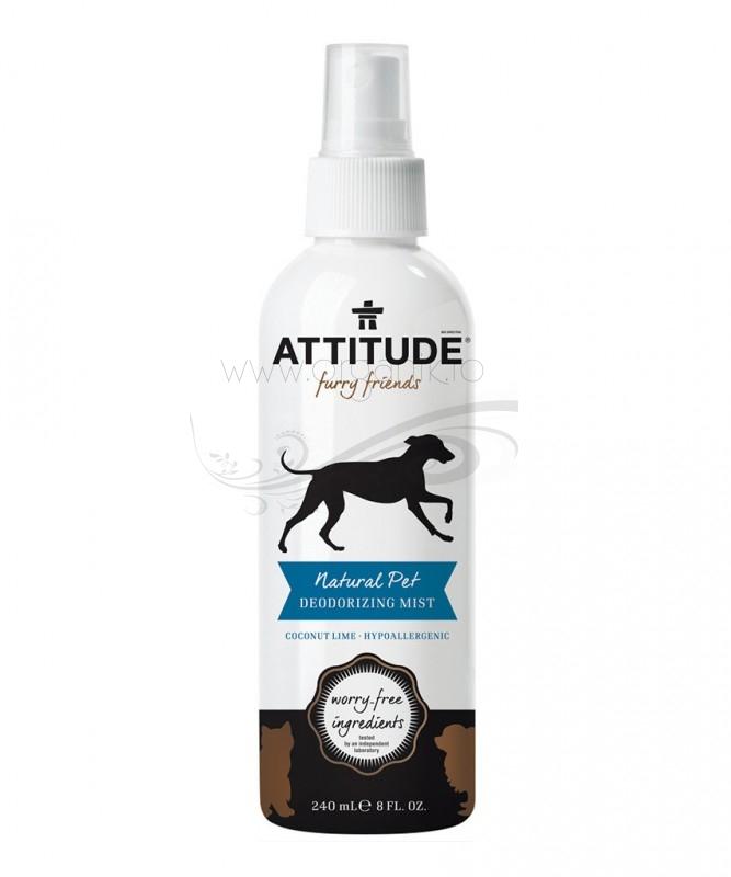 Solutie dezodorizanta hipoalergenica pentru animale de companie, 240 ml - ATTITUDE