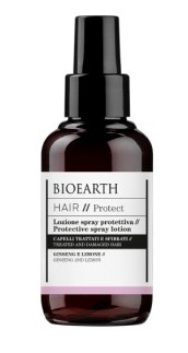 Spray protector leave-in cu ginseng pentru par tratat chimic, 100ml - Bioearth Hair Protect