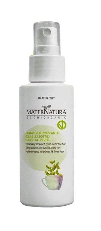 Spray volum par fin cu ceai verde, 100ml - MaterNatura