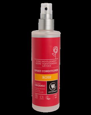 Spray balsam cu trandafir pentru hidratarea si descurcarea parului - URTEKRAM