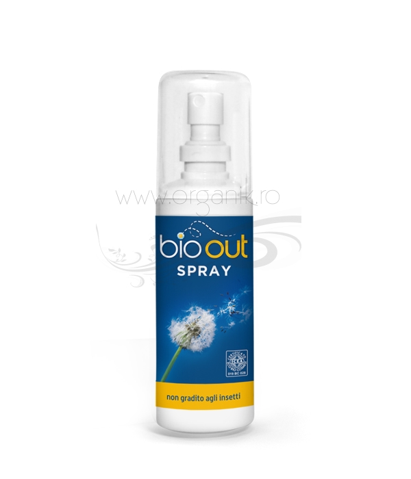 Spray repelent bio antitantari si insecte, 100 ml - Bio Out
