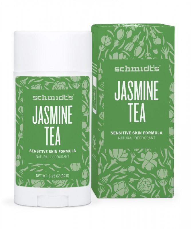 Deodorant stick cu magneziu pentru piele sensibila, Jasmine Tea - Schmidts's Deodorant