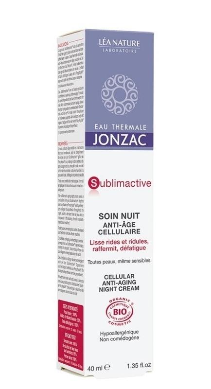 Tratament de noapte anti-age celular Sublimactive, 40ml - JONZAC