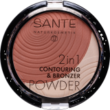 Pudra 2in1 Contouring & Bronzer, Light-Medium 01 - SANTE NATURKOSMETIK