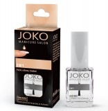 Lac de unghii 3 in 1 top coat, base coat si intaritor - Joko