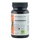 Ashwagandha Ecologica din India (400 mg) extract 5%, 60 capsule -  Republica BIO