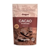 Cacao pulbere raw bio, 200g - Dragon Superfoods