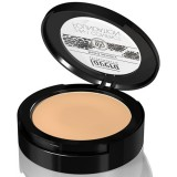 Fond de ten compact si pudra 2-in-1, Honey  03 (ex Caramel 02) - LAVERA