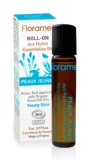 Roll-on uleiuri esentiale BIO anti-acnee Young Skin,  5ml - Florame