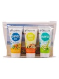 Travel Set Orange (sampon, gel de dus, lotiune de corp) - Benecos