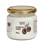 Ulei de cocos bio virgin, borcan 300ml - Dragon Superfoods
