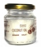 Ulei de cocos virgin bio, 100ml - Dragon Superfoods