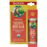 Balsam organic pentru aromaterapie Cheerful Mind, 17g -  Badger