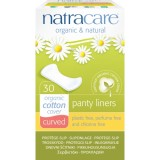 Protej slip din bumbac organic curved 30 buc - Natracare