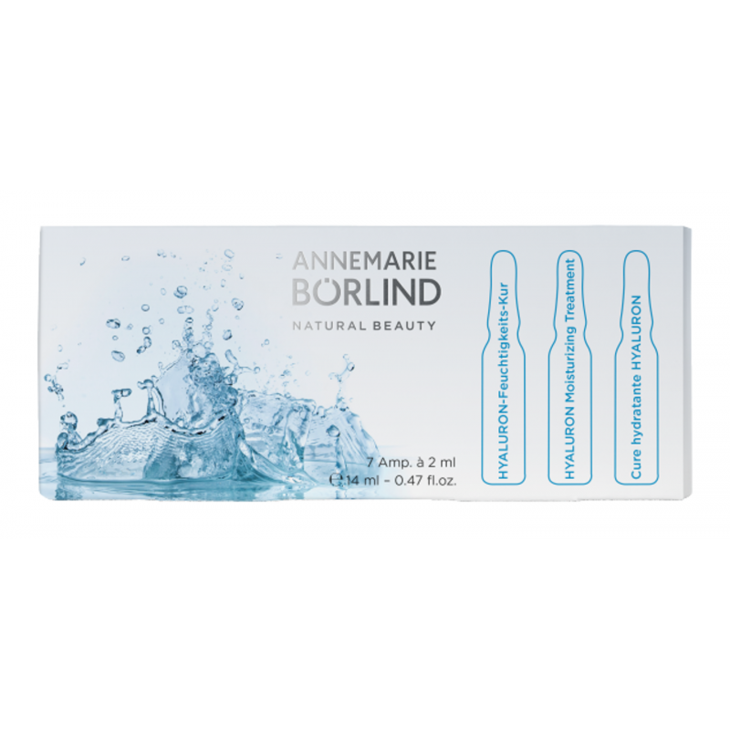 Tratament rehidratare cu acid hialuronic, 7 fiole - Annemarie Borlind