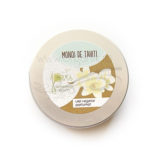 Ulei Monoi de Tahiti, 150 ml - Jovis Homemade Beauty