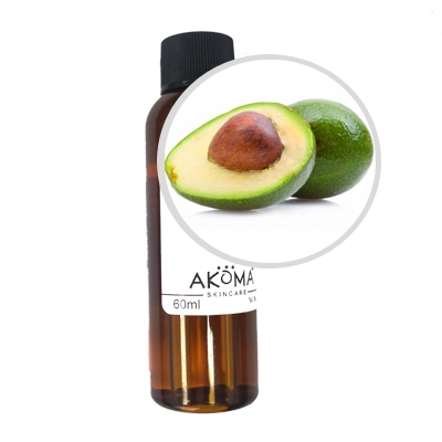 Ulei de avocado crud, certificat organic, 60 ml - Akoma Skincare
