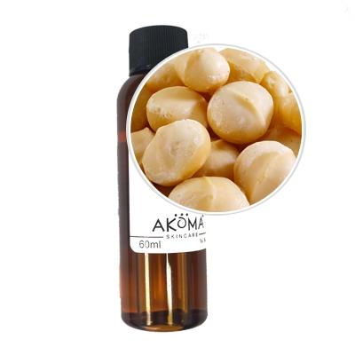 Ulei de nuci de macadamia presat la rece, 60ml - Akoma Skincare
