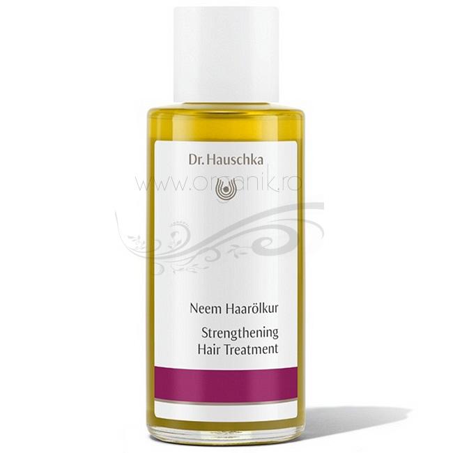 Tratament de intarire a parului cu extract de neem, 100 ml - Dr. Hauschka