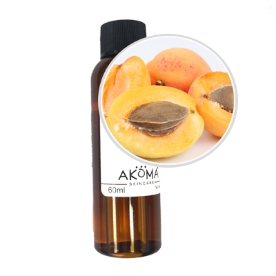 Ulei din samburi de caise certificat organic, 60 ml - Akoma Skincare