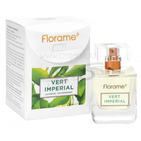 Parfum BIO Vert Imperial, 50 ml - Florame