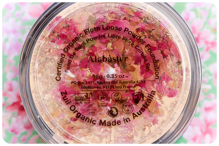 Pudra libera matifianta cu petale de trandafir, Aspen - ZUII Organic